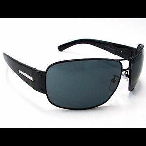 Prada SPR 61G SPR61G Matte Black 1BO1A1 Sunglasses